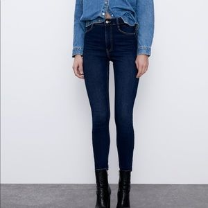 Zara Vintage High Rise Skinny Jean (Never Worn)